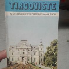 Ghid de oras Targoviste – G. Mihaescu