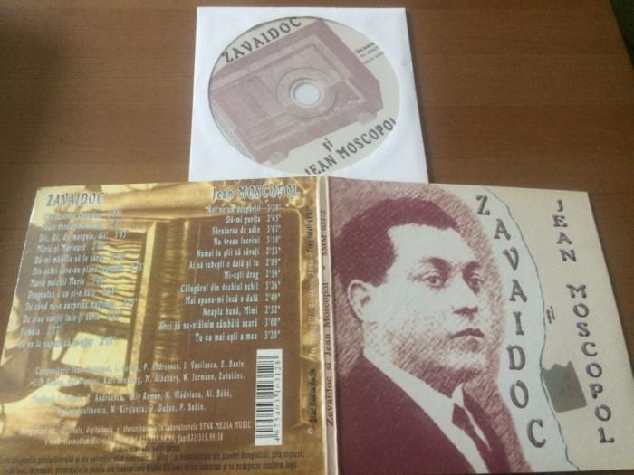 Zavaidoc si Jean Moscopol cd disc muzica usoara slagare star media music 2006