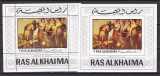 Ras al Khaima  1970  pictura Murillo  MI   bl.77 A +B  MNH  w66