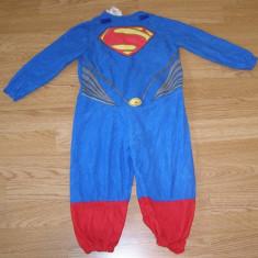 Costum carnaval serbare superman pentru copii de 1-2 ani, Din imagine