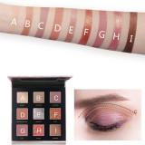 Trusa machiaj paleta farduri ochi profesionala 9 culori kkb glitter lichi
