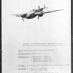 Fotografie avion Caproni Ca 135 al doilea razboi mondial