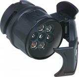 Adaptor priza rulota remorca ,scurt 13/7 pini - standard -9984561
