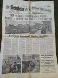 Ziarul Scanteia 28 iulie 1989
