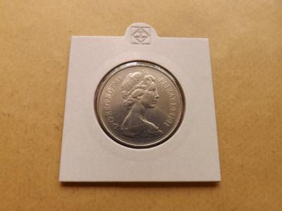 Marea Britanie  /  Regatul Unit  10  Pence  1968 - C foto