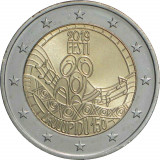 NOU - Estonia moneda comemorativa 2 euro 2019 - Festival de cantec - UNC