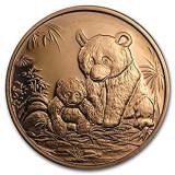 Cumpara ieftin Moneda cupru 999 lingou, Panda 29 grame