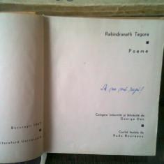 POEME - RABINDRANATH TAGORE
