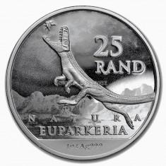 Moneda argint 999 lingou , Dinozaur Africa de Sud 1 uncie = 31 grame