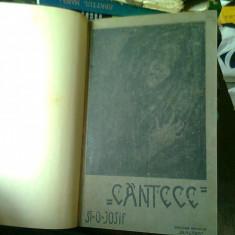 CANTECE - ST.O. IOSIF