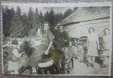 Tarani calare pe magari// Romania interbelica, fotografie