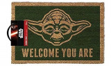 Covor Star Wars Yoda Welcome You Are Doormat