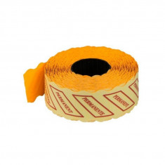 Etichete preț – 1500/rolă portocaliu