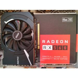 Placa video MSI Aero ITX Radeon RX 560 4Gb OC