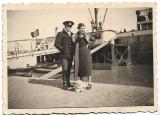 D8 Nava sub pavilion nazist in port Braila 1937