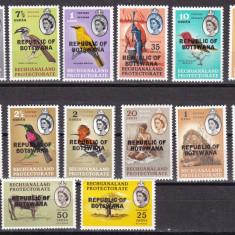 Botswana  1966  fauna  MI  5-18   MNH   w59
