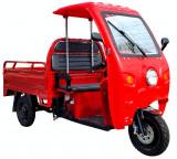 Triciclu Electric, Voltarom Hercules, Tuk Tuk, Cu Cabină Motor 3900W, 72V, 120Ah, 120Km autonomie