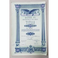 ' DATORIA PUBLICA A ROMANIEI ' TITLU DE 10.000 DE LEI , EMIS IN 28 IULIE 1936