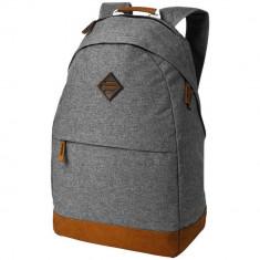 Rucsac Tableta/Laptop, Everestus, EO, 15.6 inch, 300D poliester, gri, saculet de calatorie si eticheta bagaj incluse