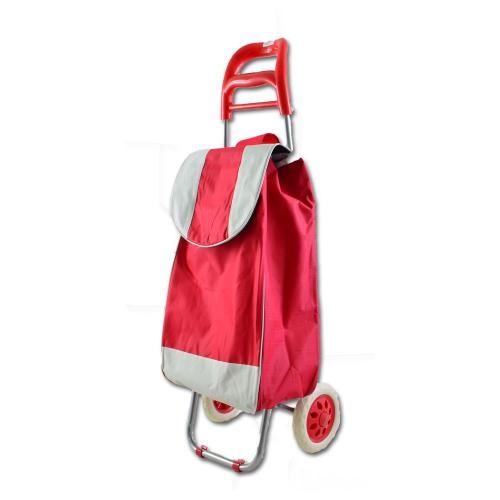Carucior de cumparaturi Troller rosu
