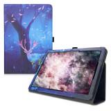 Husa pentru Huawei MediaPad T5, Piele ecologica, Multicolor, 46111.14