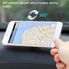 Suport magnetic auto pentru telefon, rotire 360°, pentru Land Rover, roz