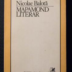 Nicolae Balotă - Mapamond literar
