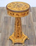 Masa din lemn masiv furniruit cu artar  CAT-Table82x48cm-AL, Mese si seturi de masa