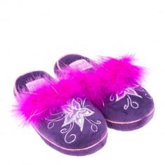 Papuci de casa pentru copii Nana mov