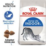 Royal Canin INDOOR 27 - hrană pentru pisicii care trăiesc în casă 400 g