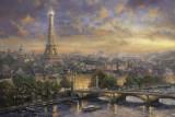 Puzzle Schmidt - 1000 de piese - Thomas Kinkade : Paris city of love