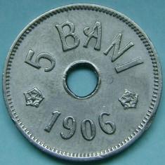 ROMANIA, 5 BANI 1906 J_XF+ * cod 120