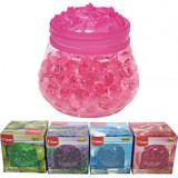 Perle gel odorizante Clean 100 g, aroma de trandafiri