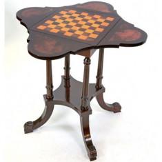 Masa pentru sah din lemn mahon CAT-Chesstable