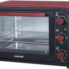 Cuptor electric Albatros A45 RED, 1800W, Timer, 45L (Rosu)