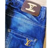 Jeans Louis Vuitton, 26, Albastru