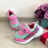 Cumpara ieftin Adidasi colorati roz verzi f usori cu scai pt fetite bebelusi 20, Fete