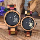 Set ceasuri din lemn multicolor Bobo Bird pentru cupluri Wooden Lux
