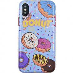 Husa Capac Spate Donut APPLE iPhone X