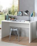 Cumpara ieftin Masa de birou din lemn de fag si pal pentru copii London Alb, L140xl65xH75 cm
