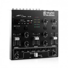 Skytec STM 2250, USB, SD MP3 FX, mixer cu 4 canale