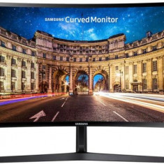 Monitor VA LED Samsung 27inch LC27F396FHUXEN, Full HD (1920 x 1080), HDMI, VGA, 4 ms, Ecran Curbat (Negru)