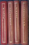 Versuri - Esenin, Puskin, Maiakovski, Lermontov (editie bibliofila)