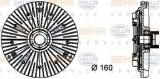 Vascocuplaj / Cupla ventilator radiator BMW Seria 3 Compact (E36) (1994 - 2000) HELLA 8MV 376 732-111