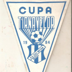 Fanion Cupa Tarnavelor-A.S.Gaz Metan 1984