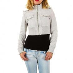 Jacheta scurta, de culoare gri