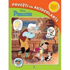 Disney. Pinocchio. Povești cu autocolante