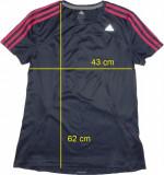 Tricou sport ADIDAS ClimaLite, original, ca nou (dama L) cod-446566