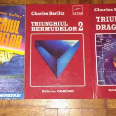 Charles Berlitz – Triunghiul Bermudelor, Triunghiul Diavolului (4 vol)