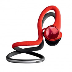 Casti Sport Bluetooth Plantronics BackBeat FIT 2100, BT 5.0, rezistenta la transpiratie, apa, Lava Red/Black - PLB00131
